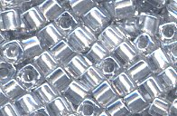 SB18-242 Sparkle Pewter Lined Crystal